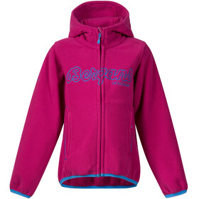 """Bergans Kids Bryggen Jacket Cerise/Light Winter Sky"""